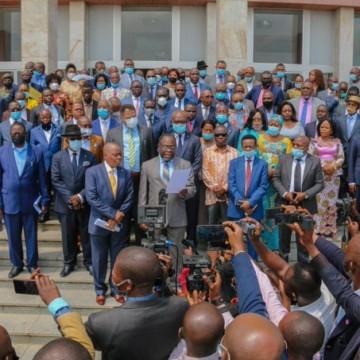 305 députés Fcc font bloc derrière Mabunda et Joseph Kabila
