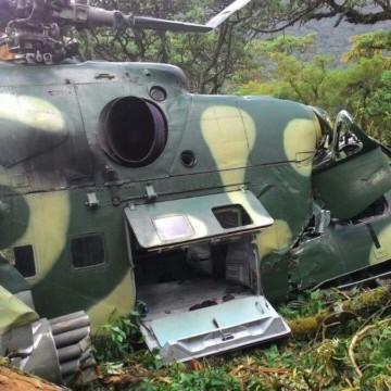 Un hélicoptère de l'armée porté disparu