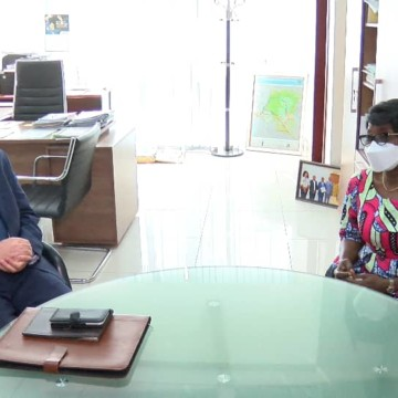Toufik Djouama Ambassadeur d'Algérie en RDC