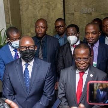 Sama Lukonde et Bahati Lukwebo