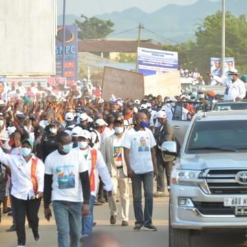 Campagne présidentielle Congo-Brazzaville
