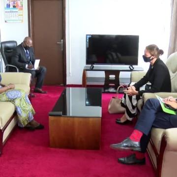 Emily Maltman et Marie Tumba Nzeza