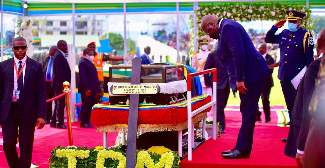 Tshiekedi rend hommage à JP Magufuli