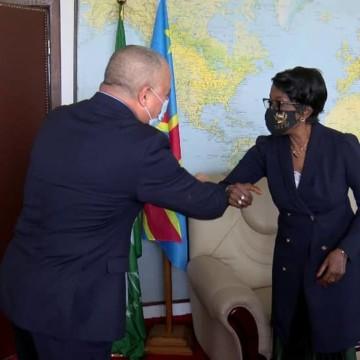 Marie Tumba Nzeza et Othman Jarandi