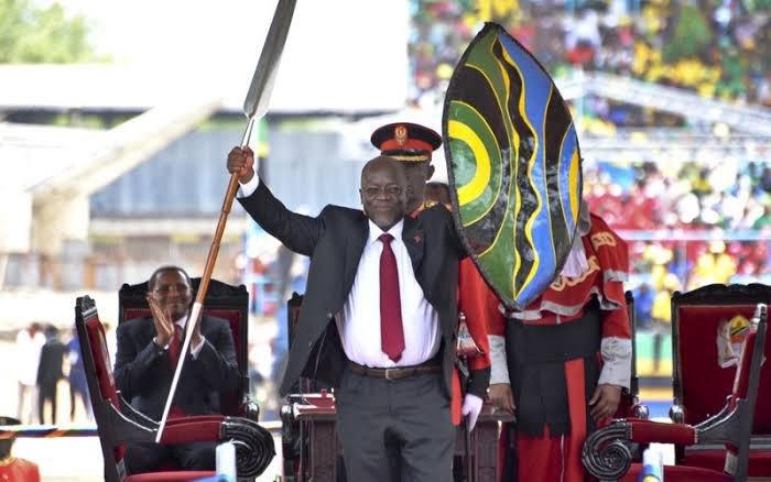Président tanzanien John Magufuli Pombe