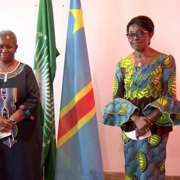Bintou Keita et Tumba Nzeza