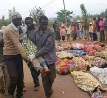 Victimes des attaques ADF au Ruwenzori