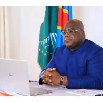 Félix Tshisekedi à Bunia