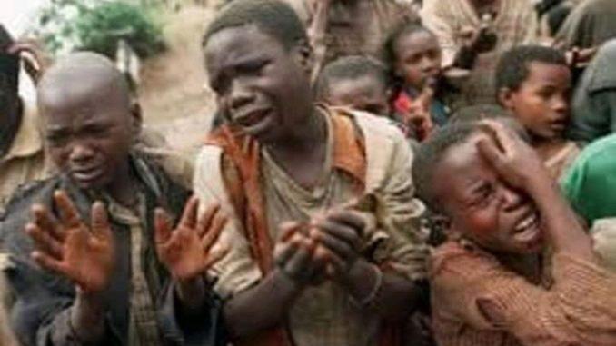 Enfants pleurant