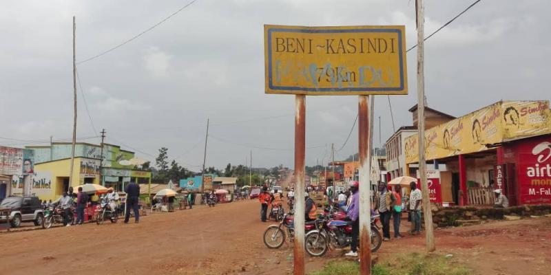 Route Beni-Kasindi
