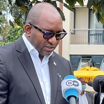 Sama Lukonde en point de presse