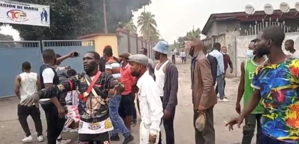 combattans UDPS au centre Lindonge
