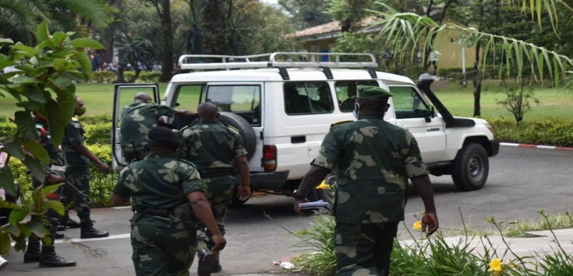 Officiers FARDC arrêtés à Goma