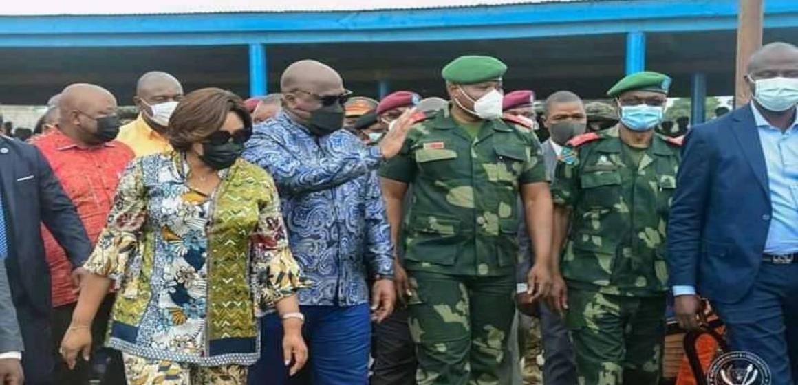 Le président Tshisekedi lance les cantines militaires