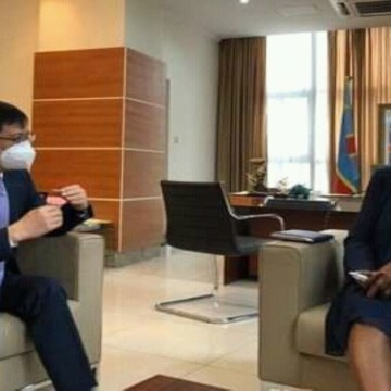 Ambassadeur chine/ ministre des Mines