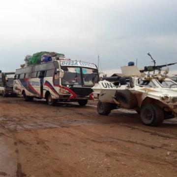 Convoi route Komanda-Luna