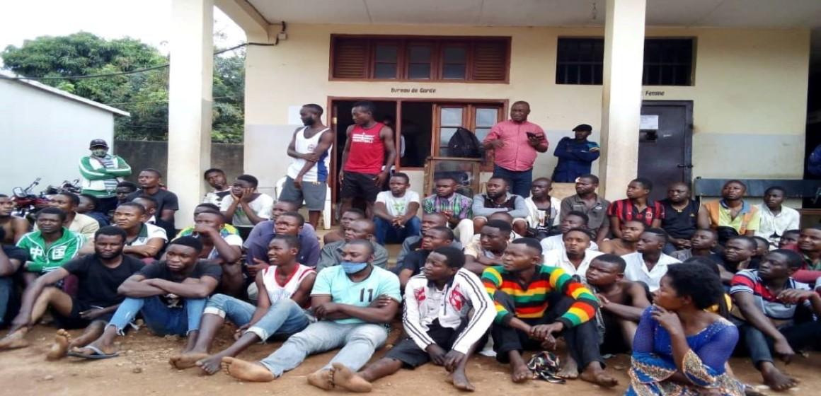 Jeunes arrêtés à Beni