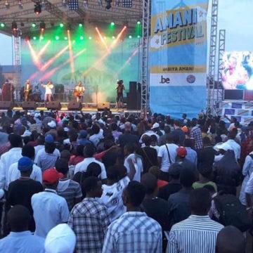 Festival Amani : Les artistes réclament la paix