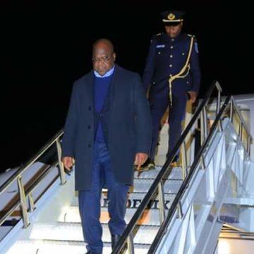 Félix Tshisekedi est arrivé aux USA