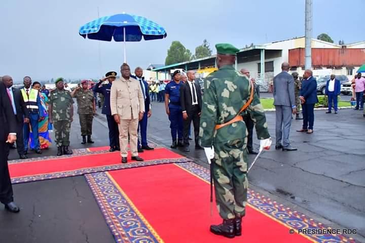 Félix Tshisekedi mardi à Goma pour s'enquérir de la situation sécuritaire de la région