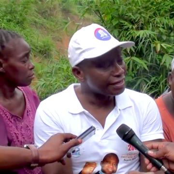 Chérubin Okende à la rescousse des habitants de Ngomba Kikusa