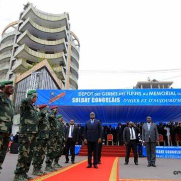 Félix Tshisekedi honore le soldat congolais et l'armée ce 17 mai