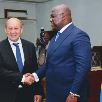 La France renoue avec la RDC 7 ans après