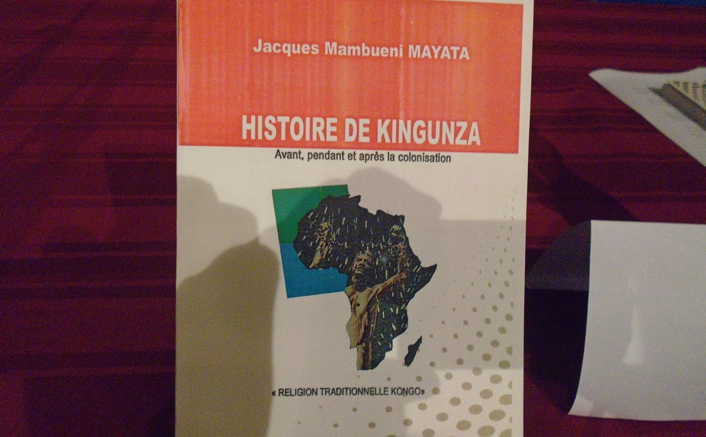 Vient de paraitre : « Histoire de Kingunza » - Infocongo