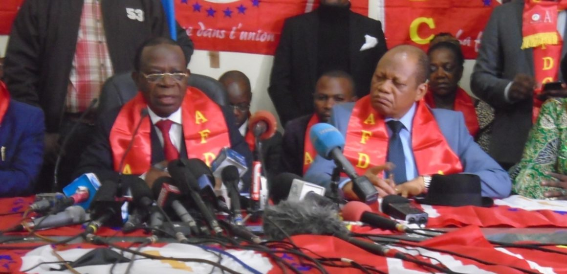 Bahati Lukwebo n'a jamais fait une déclaration sur Rfi (communiqué)