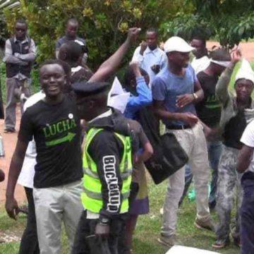 Beni: En pleine auto-formation militaire des jeunes gens dispersés leur leader arrêté