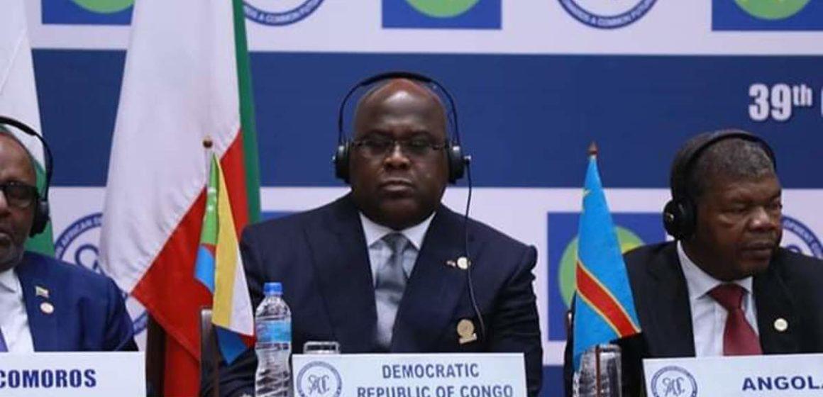 A Dar-Es-Salaam, Félix Tshisekedi a parlé d'Ebola et d'insécurité en RDC