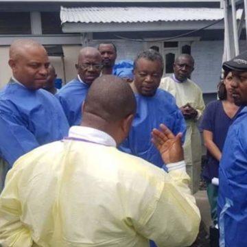 Eradication du virus à Ebola : Muyembe reste confiant