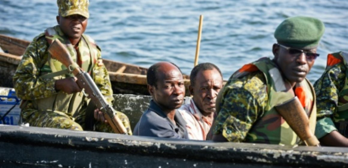 Des pêcheurs congolais torturés par la marine Ougandaise, leurs matériels saisis