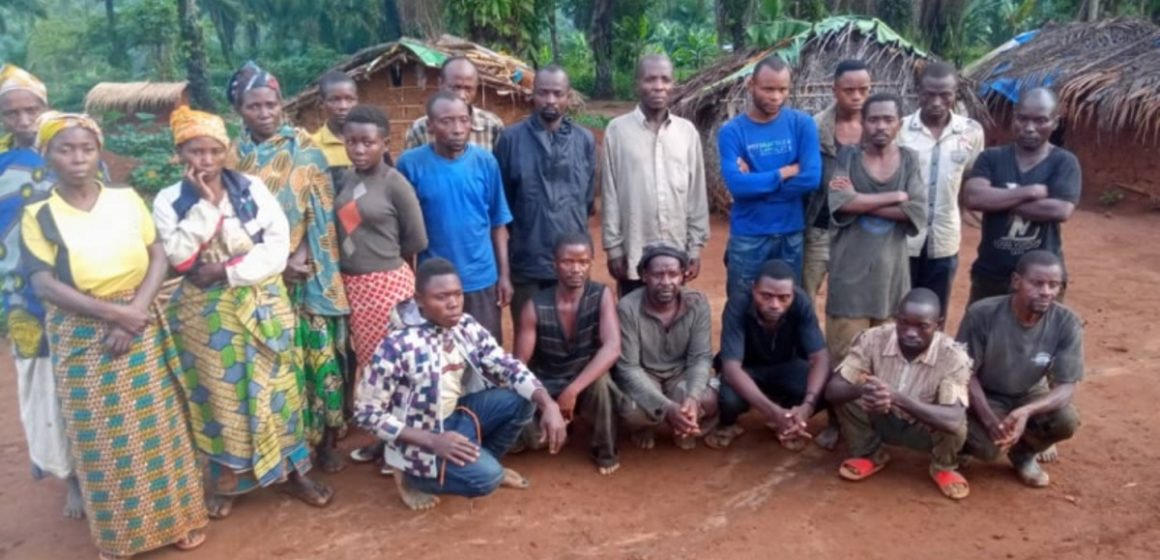 Beni : L'ADF libère 10 otages kidnappés à Kisima