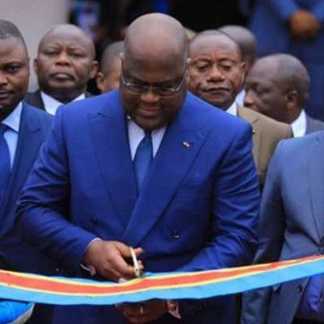 Félix Tshisekedi inaugure l'Institut Mokengeli réhabilité