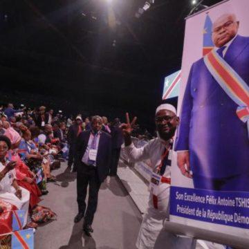Félix Tshisekedi convainc la diaspora congolaise à Bruxelles