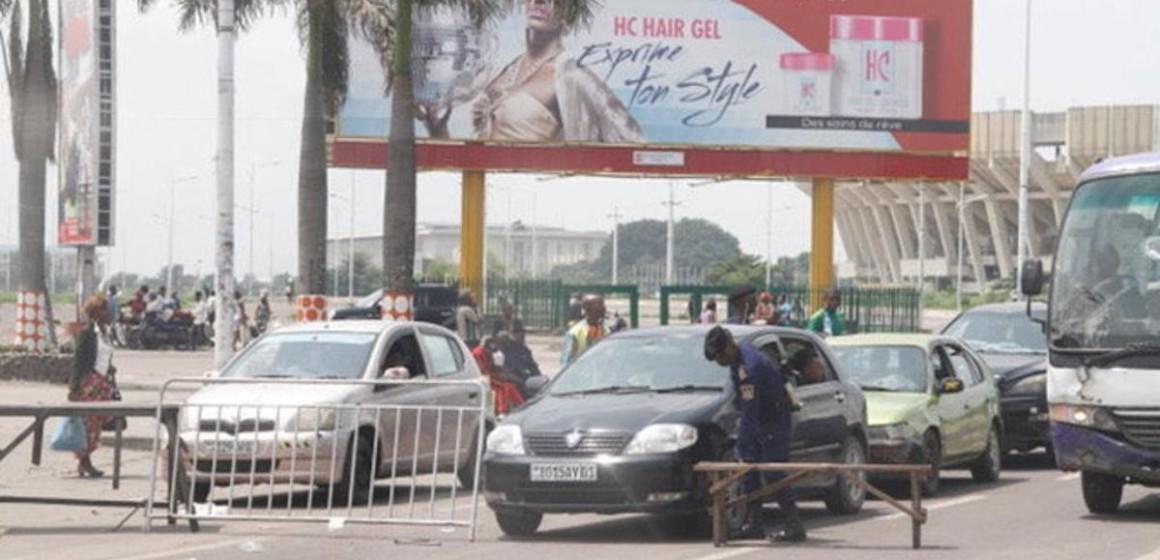 Kinshasa : les automobilistes désertent les grandes artères suite au lancement du contrôle de la vignette