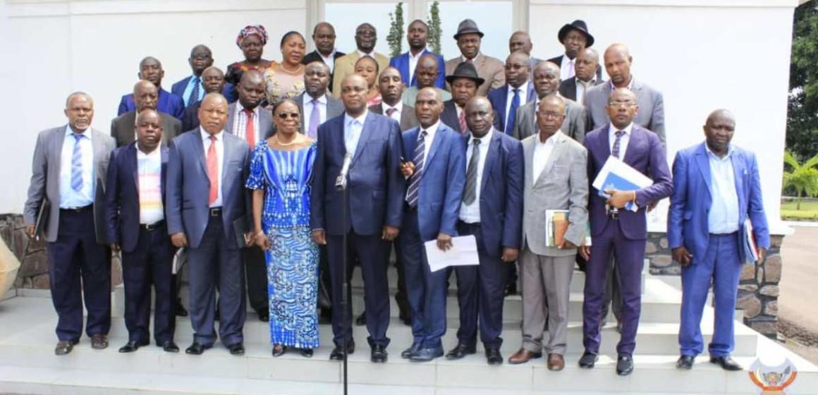 Reçus à la Primature, les notables du Sud-Kivu appellent à la cessation des hostilités
