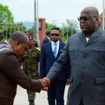 Félix Tshisekedi à Bukavu pour l'inauguration d'un laboratoire agricole