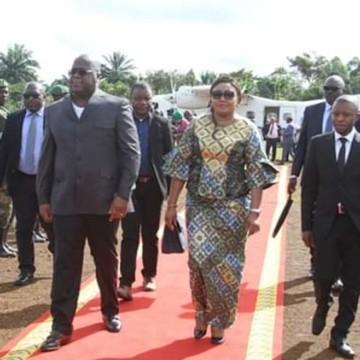 Arrivé à Beni, Félix Tshisekedi promet la paix, la sécurité et le développement