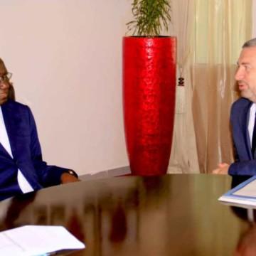 Réformes économiques et gratuité de l'enseignement au cœur des discussions entre le PM et Le Directeur des opérations de la BM
