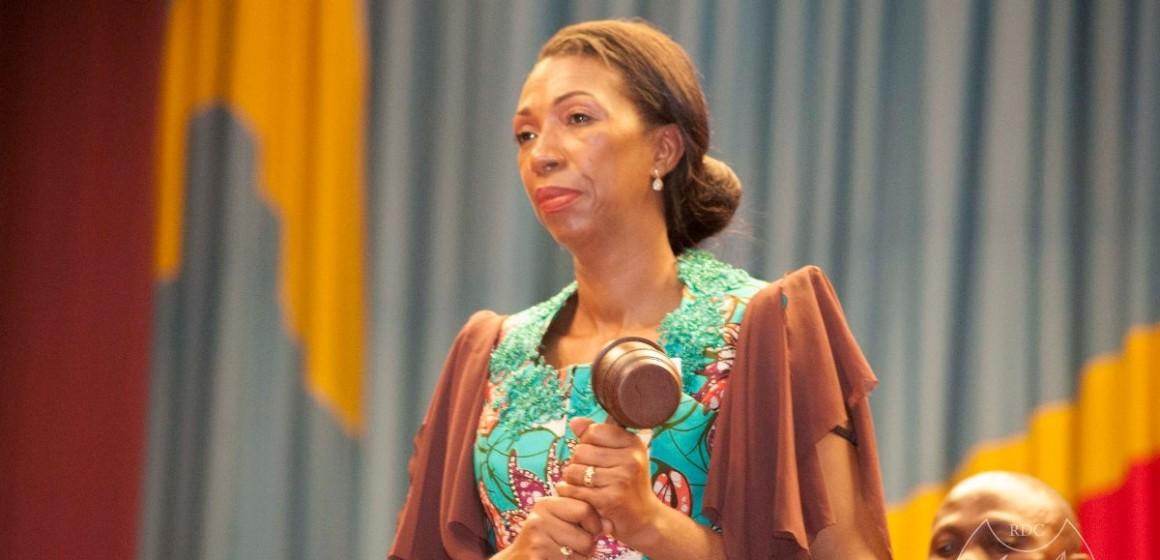 Jeannine Mabunda nettoie la cellule de communication de l'Assemblée nationale