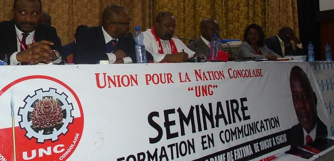 Séminaire de formation en communication a l'UNC : les militants en ordre de bataille