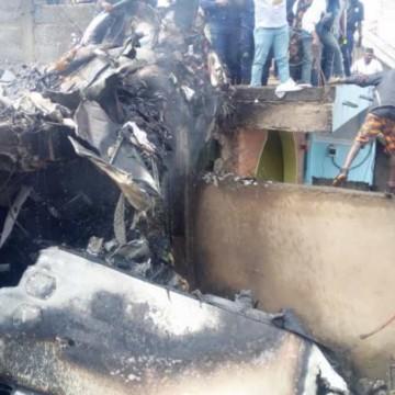 Crash d'un petit porteur à Goma, au moins 17 morts