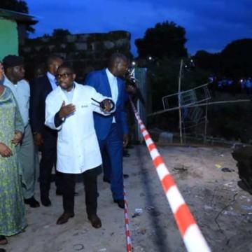 Félix Tshisekedi ordonne des travaux d'urgence pour réhabiliter l'avenue de l'université