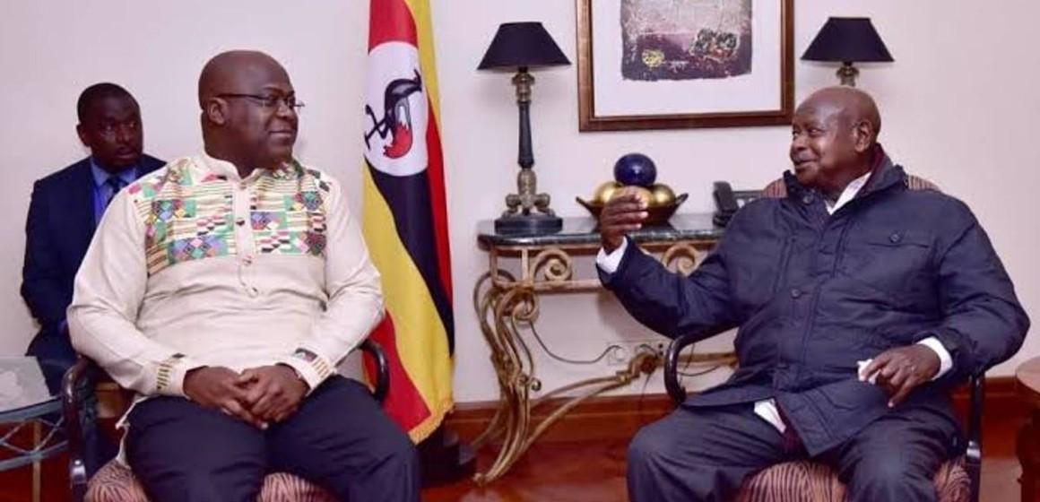 Félix Tshisekedi en visite officielle en Ouganda, sur fond de pacification de l'Est de la RDC