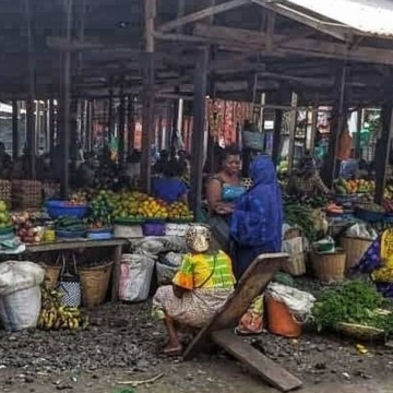 Importants dégâts matériels après l'incendie du marché central de Goma