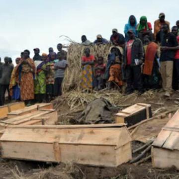 Des civils morts victimes des rebelles ADF