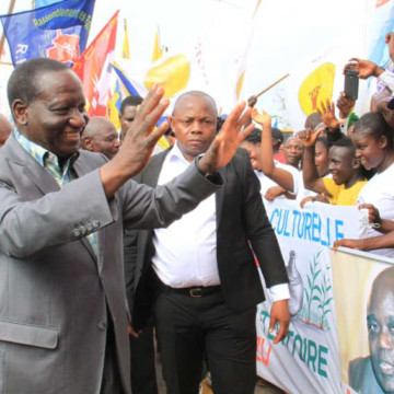 La Saint sylvestre chargée du Premier ministre Ilunkamba au grand Katanga