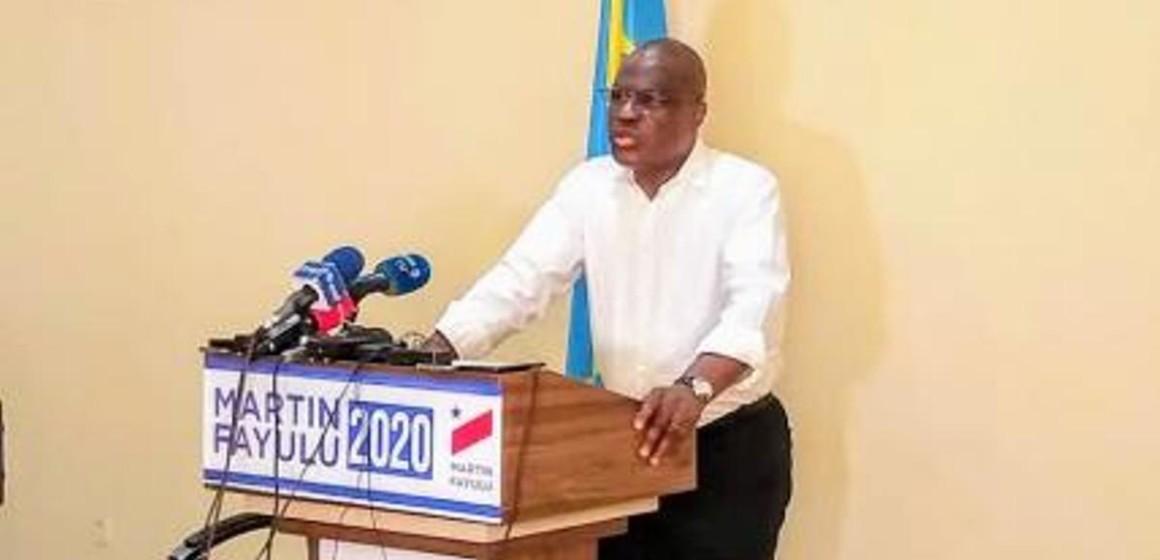 Martin Fayulu dénonce l'accélération du projet de balkanisation de la RDC